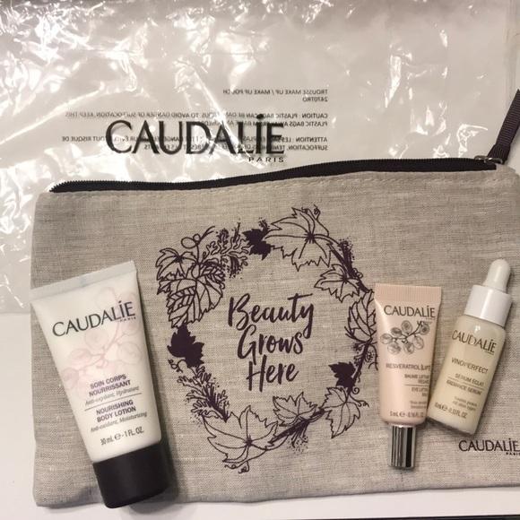 Caudalíe Other - Caudalie Skin Care Sample Trio w/ pouch